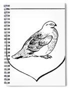 Alaska: State Bird Spiral Notebook