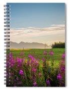 Alaska Summer Love Spiral Notebook