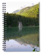 Alaskan Lake Spiral Notebook