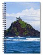 Alau Islet, Fisherman Spiral Notebook