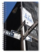 Albany And Washington Spiral Notebook