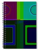 Albers Medal Spiral Notebook