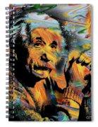 Albert Einstein - By Prar Spiral Notebook