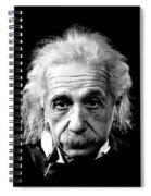 Albert Einstein Circa 1952 Spiral Notebook