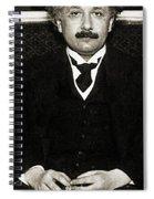 Albert Einstein, German-american Spiral Notebook