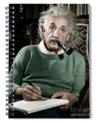 Albert Einstein Spiral Notebook