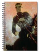 Albert I King Of The Belgians In The First World War Spiral Notebook