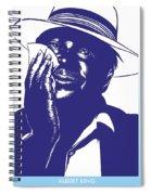 Albert King Spiral Notebook