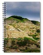 Alberta Badlands Spiral Notebook