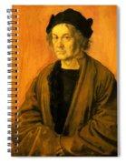 Albrecht Durer Father 1497 Spiral Notebook