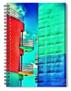 Albufeira New Town 1 Spiral Notebook