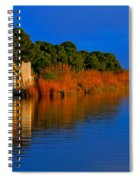 Albufera Blue. Valencia. Spain Spiral Notebook