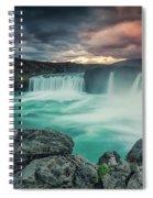 Alca000001 Spiral Notebook