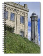 Alcatraz Cell House And Lighthouse Spiral Notebook