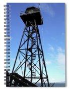 Alcatraz Guard Tower - San Francisco Spiral Notebook