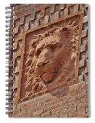 Alcazar Lion Spiral Notebook