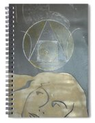 Alchemy's Golden Girl Spiral Notebook