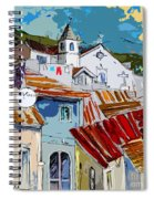 Alcoutim In Portugal 08 Bis Spiral Notebook