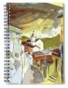 Alcoutim Portugal 06 Bis Spiral Notebook