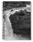 Aldeyjarfoss Waterfall Iceland 3353 Spiral Notebook