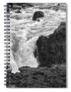 Aldeyjarfoss Waterfall Iceland 3381 Spiral Notebook