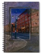 Ale House And Street Lamp Spiral Notebook