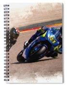 Aleix Espargaro Team Suzuki Ecstar Spiral Notebook