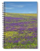 Alentejo Wild Flowers Spiral Notebook