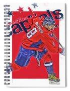 Alex Ovechkin Washington Capitals Oil Art Spiral Notebook