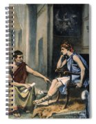 Alexander & Aristotle Spiral Notebook