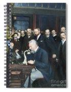 Alexander Graham Bell Spiral Notebook