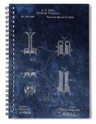 Alexander Graham Bell's Telephone Spiral Notebook