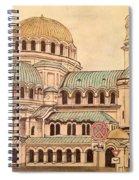 Alexander Nevsky Cathedral Spiral Notebook