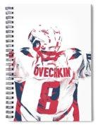 Alexander Ovechkin Washington Capitals Pixel Art 9 Spiral Notebook