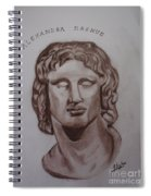 Alexander The Great Spiral Notebook