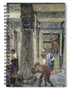 Alexandria: Library Spiral Notebook
