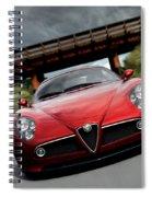 Alfa Romeo 8c Competizione Spiral Notebook