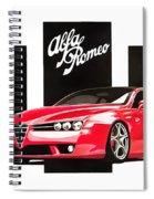 Alfa Romeo Brera Spiral Notebook