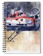 Alfa Romeo T33 Tt3 1972 Targa Florio  Spiral Notebook
