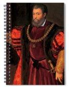 Alfonso D Este Spiral Notebook