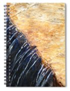 Alfred Caldwell Lily Pool Waterfall Spiral Notebook