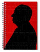 Alfred Hitchcock Spiral Notebook