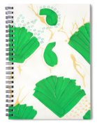Algae Blooms Spiral Notebook