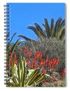 Algarve Plants Spiral Notebook