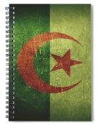 Algeria Distressed Flag Dehner Spiral Notebook