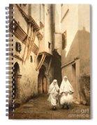 Algeria: Street Scene, C1899 Spiral Notebook