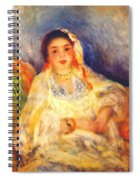 Algerian Woman Seated 1882 Spiral Notebook