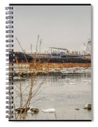 Algoma Hansa Blue Water River Walk Spiral Notebook