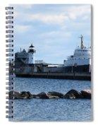 Algomarine Spiral Notebook