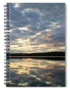 Algonquin Lake Sunset Spiral Notebook